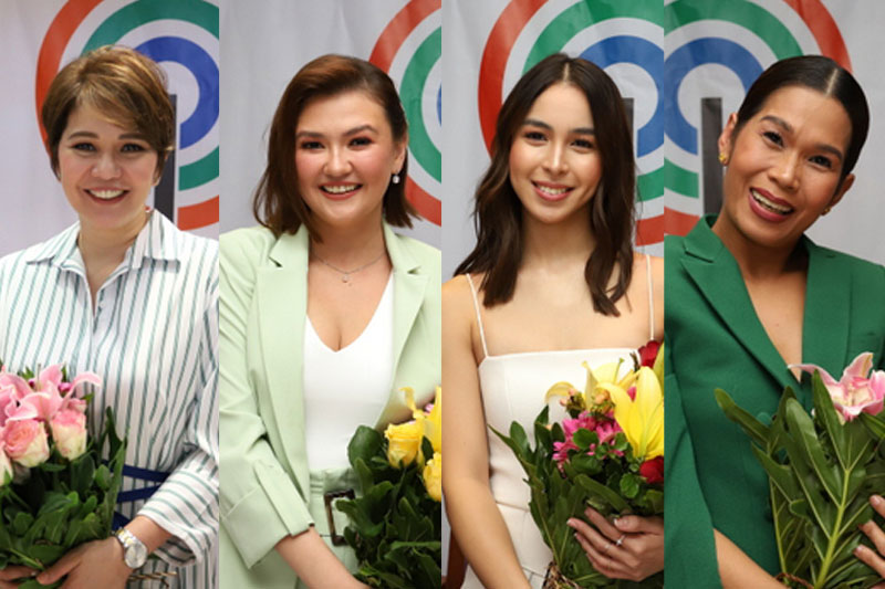 Amy Angelica Pokwang and Julia ink exclusive contracts with ABS CBN 1
