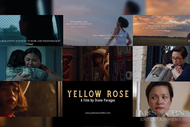 "ABS-CBN Cinematografo Originals winner ""Yellow Rose"" to open 42nd Asian American Int'l Film Fest"