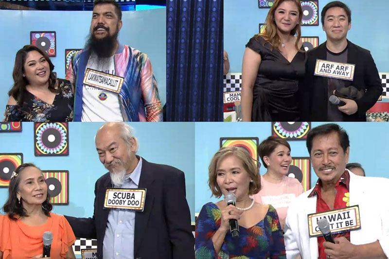 Celebrities senior citizens and foreigners spice up It s Showtime s KapareWho  1