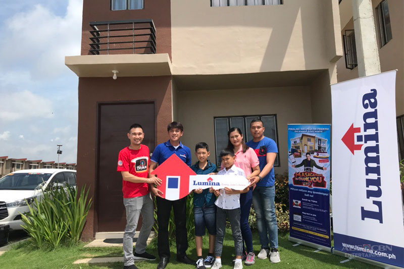 Fishball vendor wins house and lot from ABS CBN TVplus 1