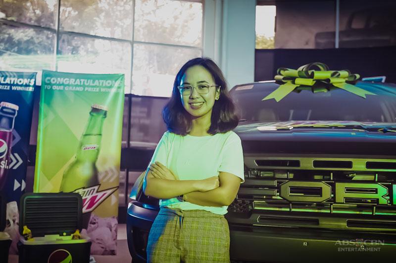 DobleHataw Med student wins a Ford Ranger Raptor rewards it to her dad 2