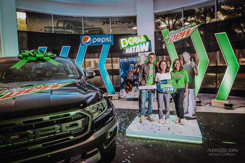 DobleHataw Med student wins a Ford Ranger Raptor rewards it to her dad 3