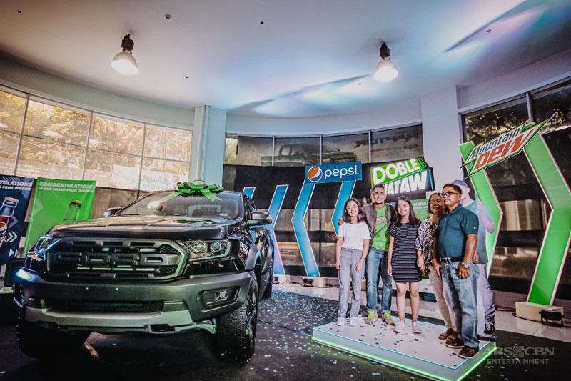 DobleHataw Med student wins a Ford Ranger Raptor rewards it to her dad 4