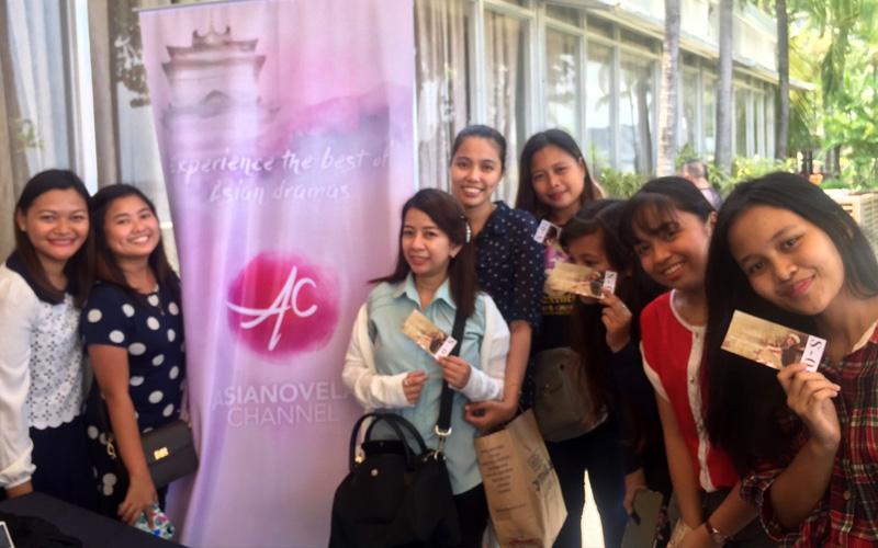 Asianovela Channel fans meet Korean superstar Park Bo Gum in Manila 2