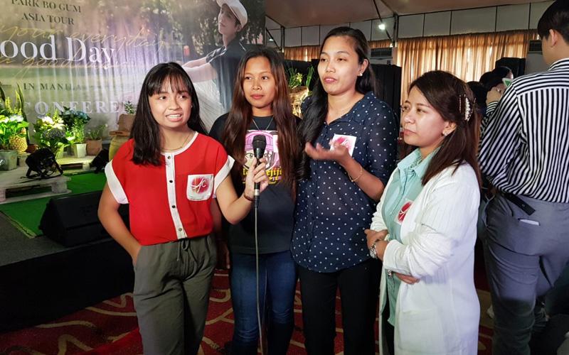Asianovela Channel fans meet Korean superstar Park Bo Gum in Manila 3
