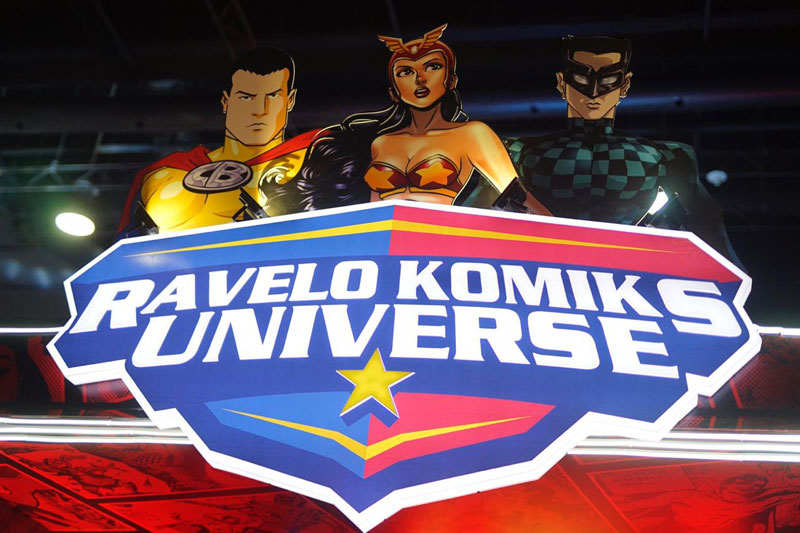 Check out the Ravelo Komiks Universe at TOYCON 2019 2