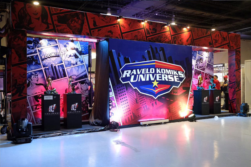 Check out the Ravelo Komiks Universe at TOYCON 2019 4