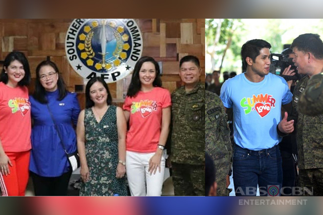 ABS-CBN honors soldiers anew at 'Saludo' event in Lucena