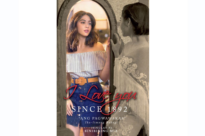 Janella Salvador is Carmela in I Love You Since 1892 book 2