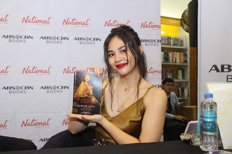 Janella Salvador is Carmela in I Love You Since 1892 book 1