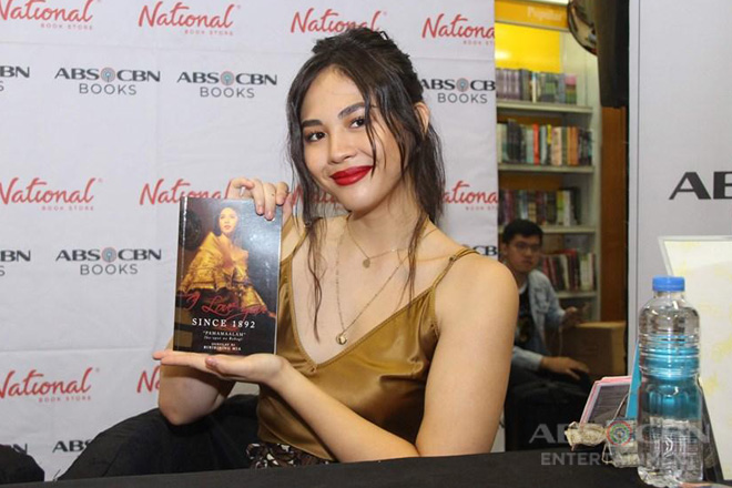 """Janella Salvador is Carmela in """"I Love You Since 1892"""" book"""