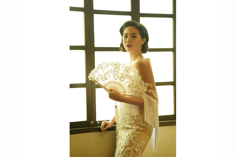 Janella Salvador is Carmela in I Love You Since 1892 book 4