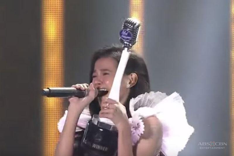 Zephanie kauna unahang Idol Philippines Grand Winner 1