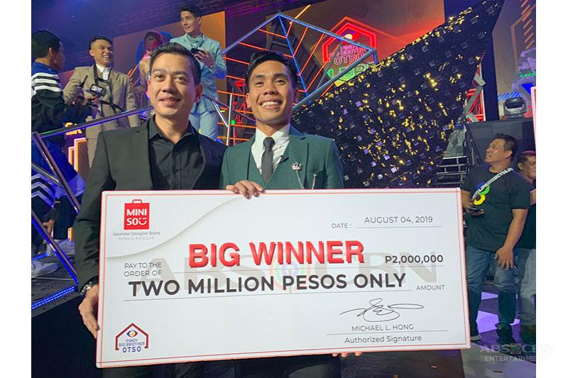 PBB Otso Ultim8 Big Winner wins 2 Million Pesos from Miniso 2