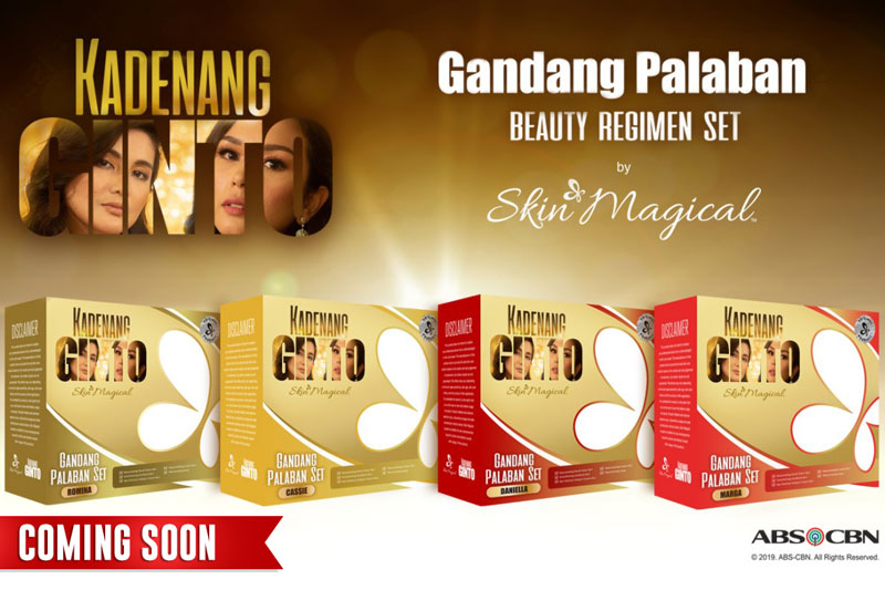 Kadenang Ginto fans can finally get hold of their own beauty regimen sets inspired by the characters of the hit Kapamilya Gold series  1