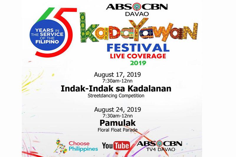 ABS CBN Regional Brings Kadenang Ginto Nang Ngumiti Ang Langit Stars to Kadayawan Festival 1