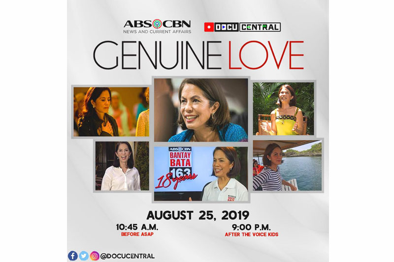 ABS CBN remembers Gina Lopez in the Genuine Love Docu this Sunday 1