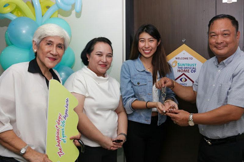 Suntrust welcomes its new homeowners Yamyam Kiara and Yen 4