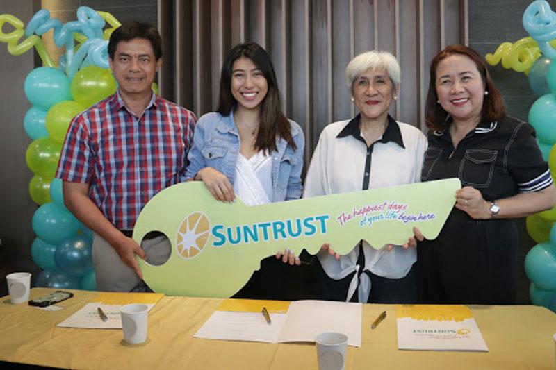 Suntrust welcomes its new homeowners Yamyam Kiara and Yen 5