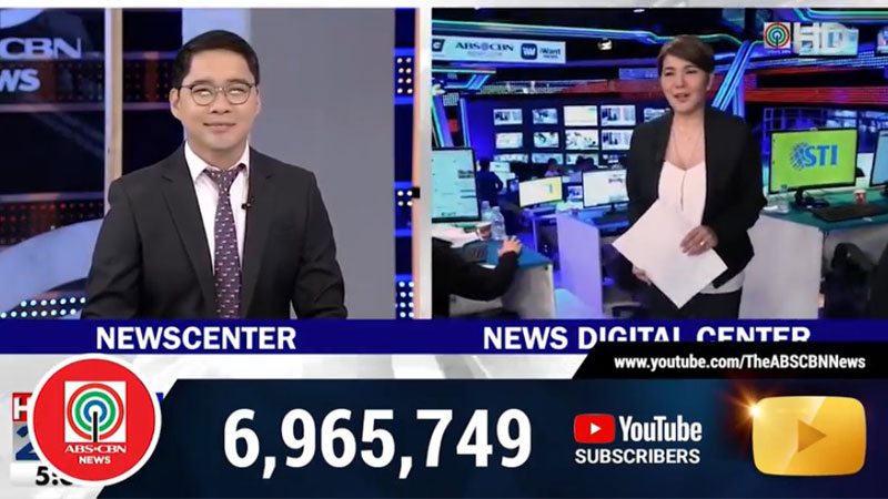 ABS CBN hits 20 million subscribers on Youtube 10
