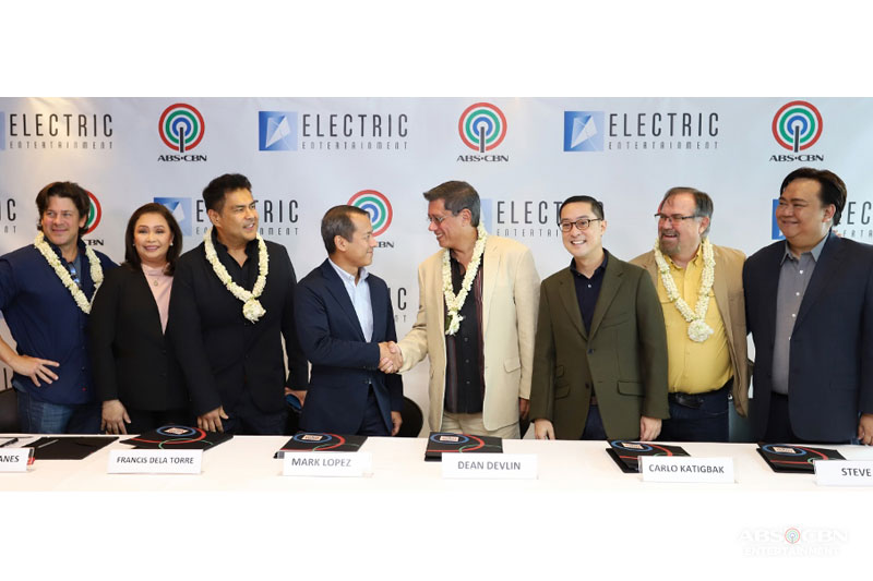ABS CBN Ventures into Holywood TV Series Production with Devlin s Electric Entertainment 1