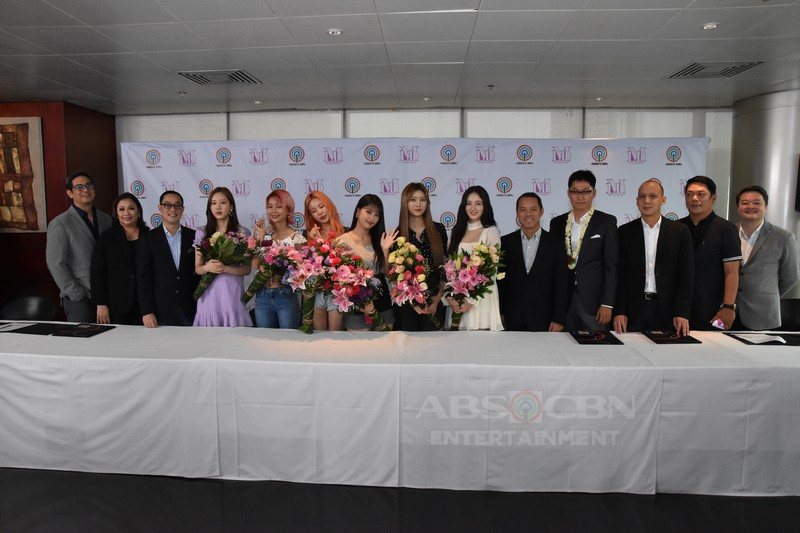 Korean group Momoland is now a Kapamilya
