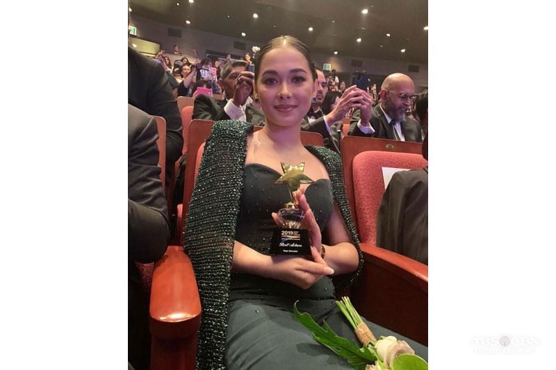 Maja Salvador kauna unahang Best Actress sa 1st Asia Contents Awards 1