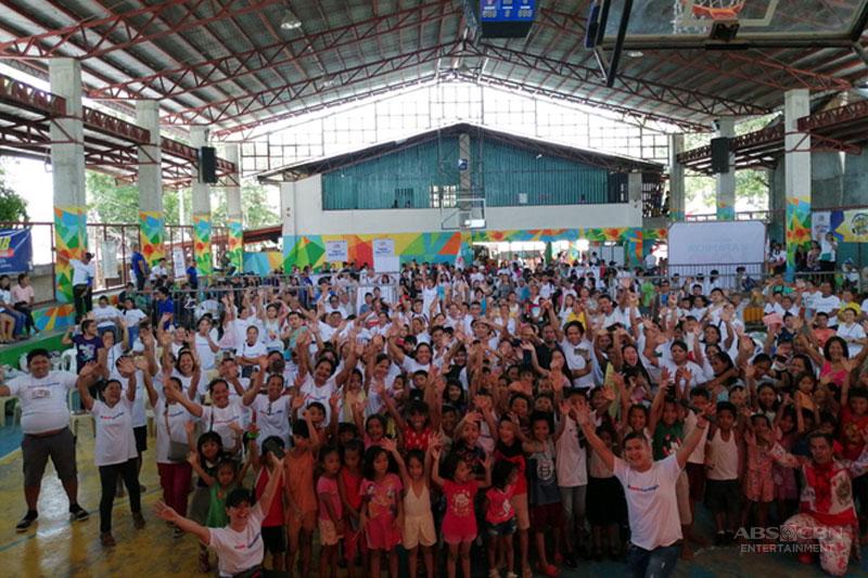 Kapamilya Love Weekend serves more than 2 000 in public service fiesta in Cebu 1