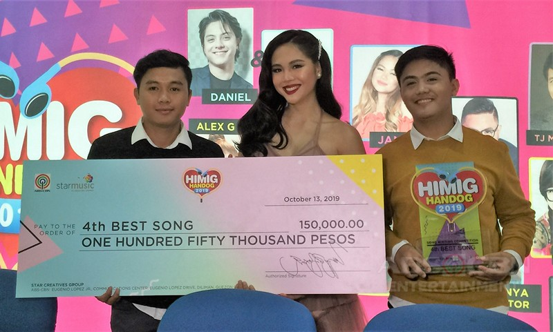"Dan Tañedo's entry ""Mabagal"" slow danced it's way to being Himig Handog 2019' Best SONG"
