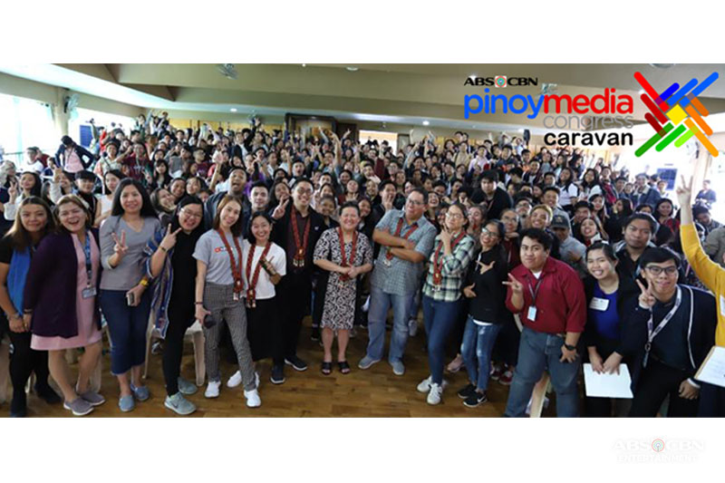 Students in North Luzon gain new knowledge on media in ABS CBN s Pinoy Media Congress Caravan 1