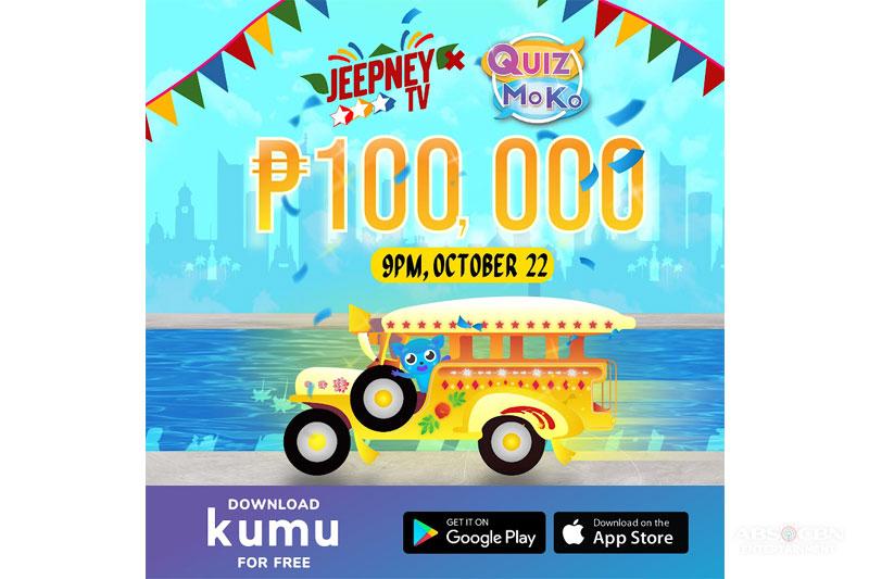 Jeepney TV Celebrates 7 Years With P100 000 Trivia Quiz Prize via KUMU 1