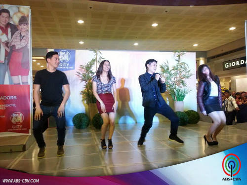 Axel, Jayme, Jacob and Loisa rock Cagayan De Oro!