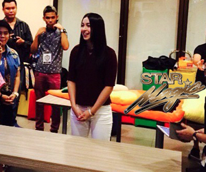 LOOK: Julia Barretto  celebrates Christmas with loyal fans