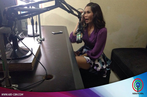 Pokwang at Edsa Woolworth's Radio visit and Mall show