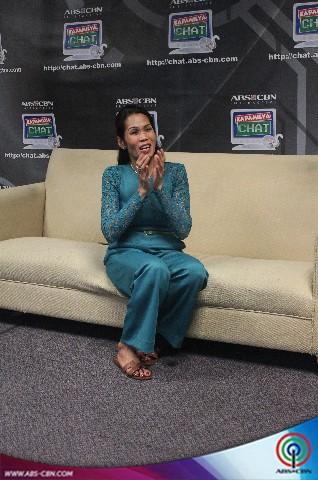 PHOTOS: Global comedianne Pokwang sa Kapamilya Chat