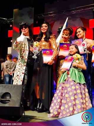 Cha-Cha Cañete joins prestigious European singing competition
