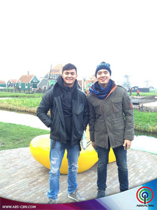 Erik and Matteo at the DZMM Global Singing Idol in Amsterdam