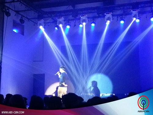 Kristel, Arron, JM at Young JV nagsama-sama para sa isang concert