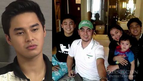 """McCoy's message to his family: """"pag nangangarap ako, buong pamilya namin ang nangangarap"""" Image Thumbnail"""