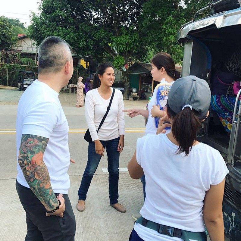 Behind-the-scenes: Angel and Dimples' first MMK together