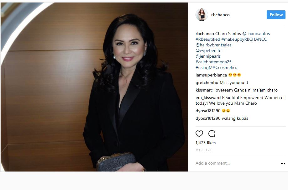 Here's proof that Charo Santos is a timeless vamp