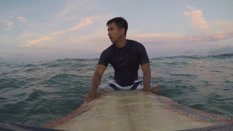 PHOTOS: RK Bagatsing plays famous one-armed surfer in MMK