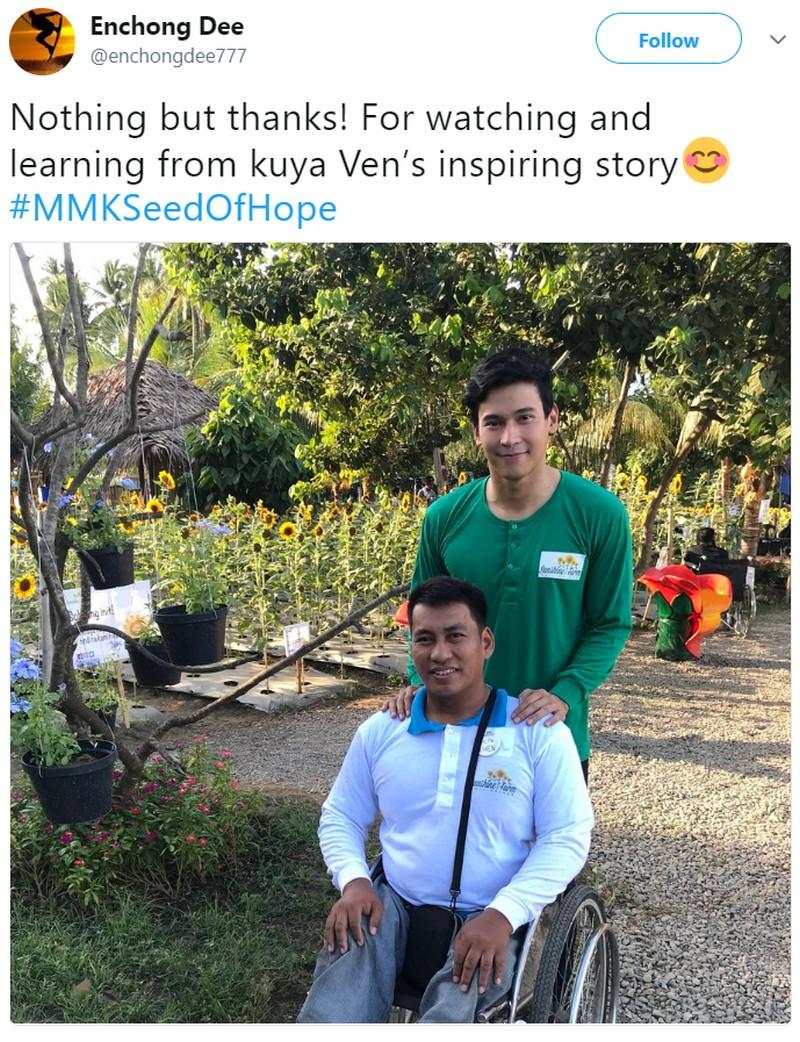 IN PHOTOS: Kilalanin ang MMK 'Sunflower' letter sender na si Ven Villanueva