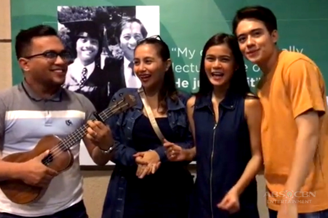 WATCH: Maris, Jameson with real-life 'Tin and Boom' sing