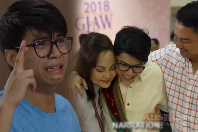 MMK Drawing Recap: Ang nakakaantig na kwento ni CJ Reynaldo