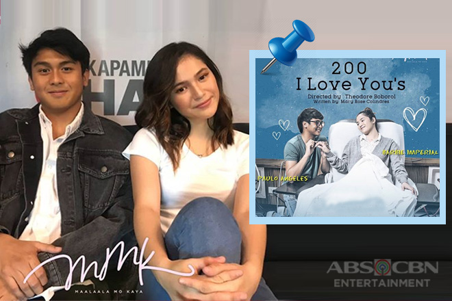 Barbie and Paulo on playing Allanis and Hennesy in #MMK200ILoveYous