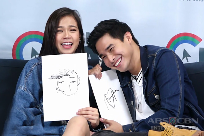 Draw Each Other Challenge with McCoy and Maris