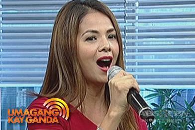 Patricia Javier sings