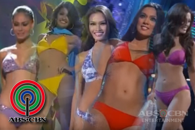 Road to Miss Universe: 2010 - 2014 Philippine Delegates in Their Swimsuits