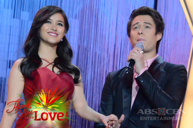"Liza, Enrique sing ""It Might Be You/Forevermore"" at the ABS-CBN Christmas Special 2015"